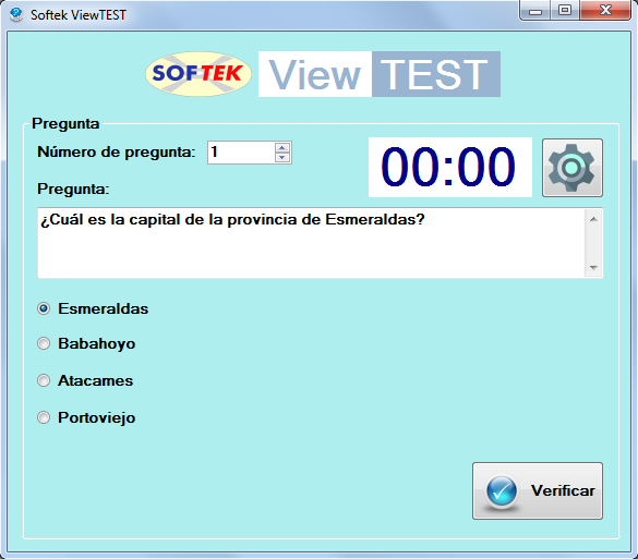 softek view test