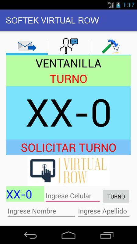 softek virtual row